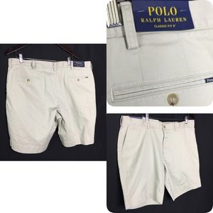 New shorts polo Ralph Lauren sz 40 classic fit 9""